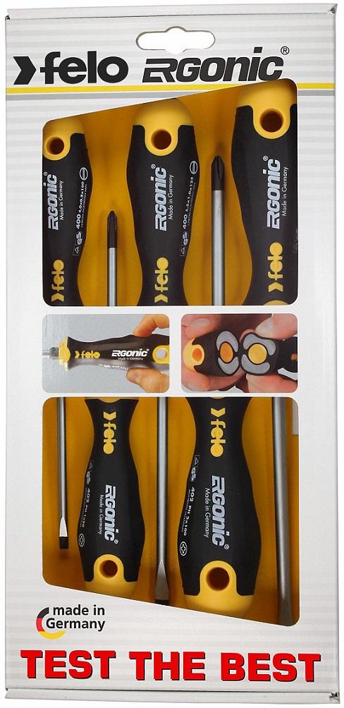 Felo Ergonic 3pc Torx Screwdriver Set 40893148